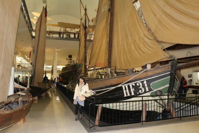 deutsches museum-boat
