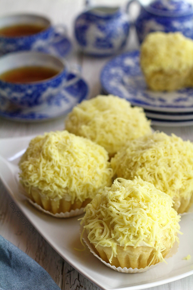 Try this soft and cheesy Ensaymada recipe. | www.foxyfolksy.com