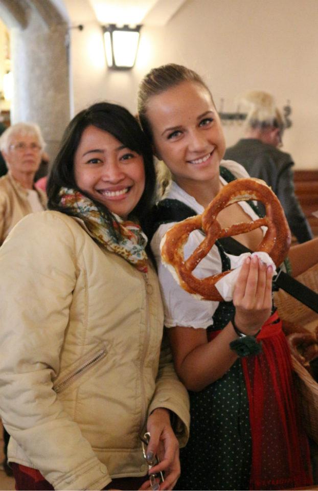 giant pretzels