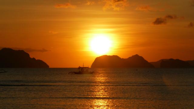 Sunset from Corong-Corong