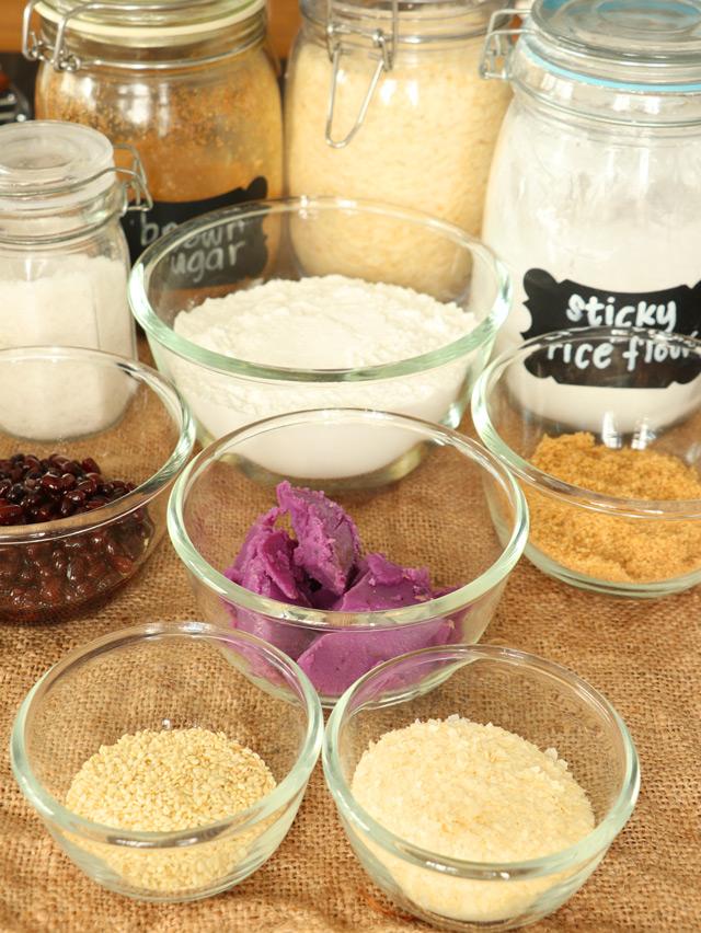 Ingredients for Buchi