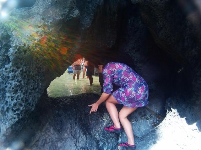passageway to Secret Lagoon