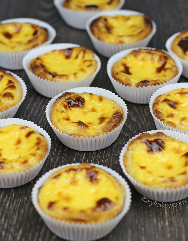 Pastel De Nata Or Portuguese Egg Tarts Foxy Folksy