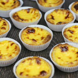 Pastel de Nata or Portuguese Egg Tarts