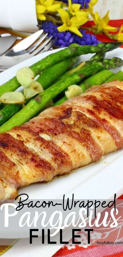 This bacon-wrapped Pangasius fillet is one of the easiest dish you can make with fish yet the tastiest that will surely be loved by young and old alike. | www.foxyfolksy.com #fishrecipe #recipes #easy #quick