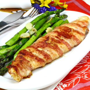 Bacon Wrapped Pangasius