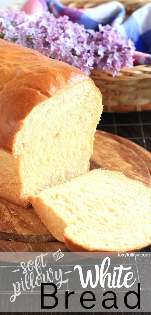 Try thiswhite bread recipe and learn the secret to have the softest and most pillowy homemade white bread you can ever make without using commercial or synthetic bread softener.| www.foxyfolksy.com #breadrecipe #homemade #breakfast# recipes