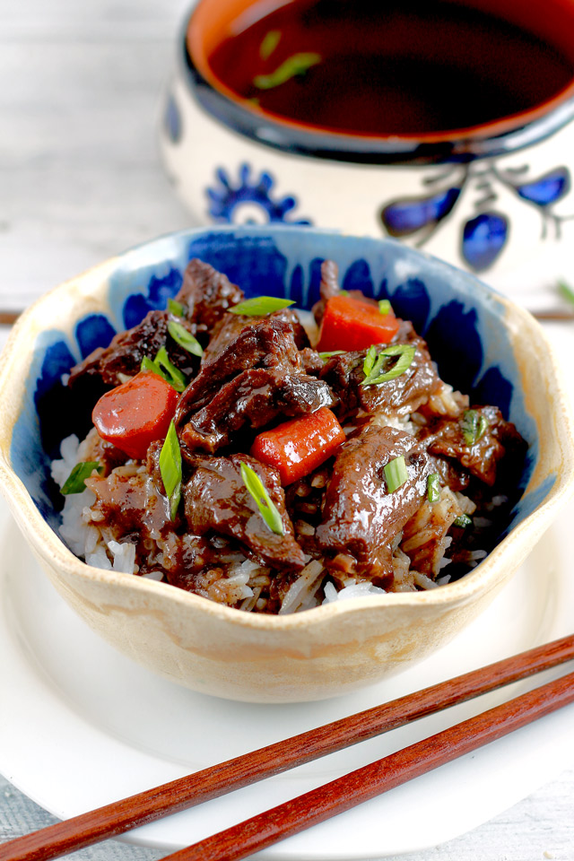 Simple Braised Beef