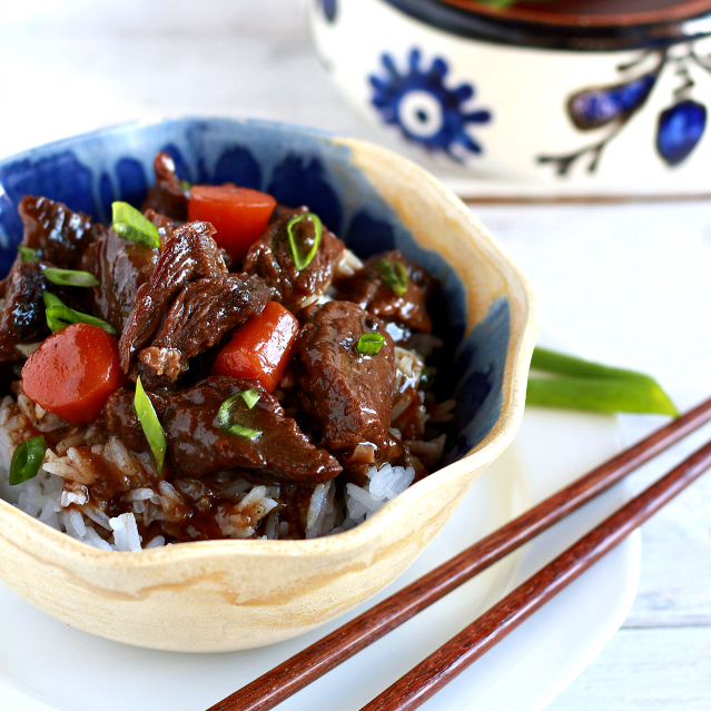 Braised Beef – Filipino/Chinese style