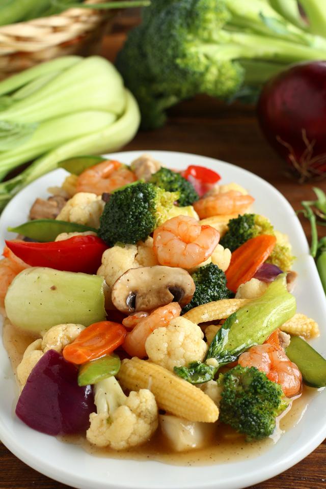 Chop Suey Recipe with shrimp