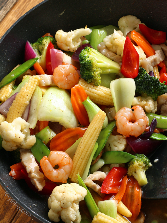 Try this Chop Suey recipe for an Easy stir-fry of colorful vegetables ...