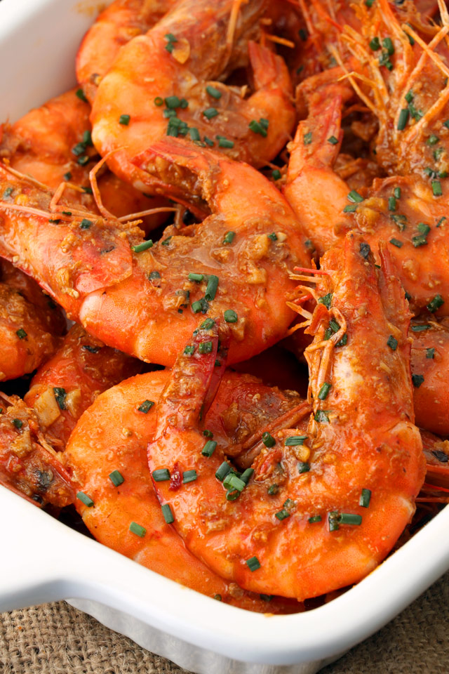 chili garlic prawns
