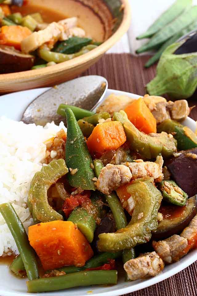 Pinakbet Recipe Foxy Folksy Pinoy Recipes