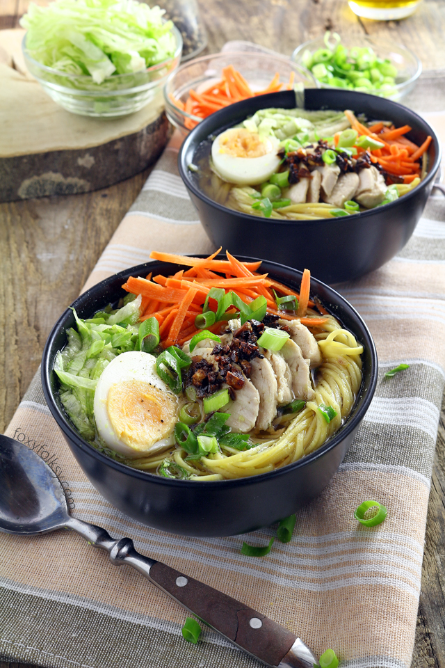 Chicken mami recipe foxy folksy try this filipino chicken mami recipe a delicious chicken noodle soup perfect to warm you forumfinder Choice Image