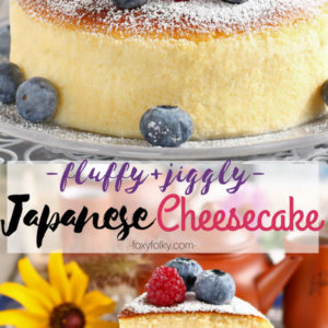 How to make Japanese or Cotton Cheesecake or Japanese Cheesecake | Foxy Folksy
