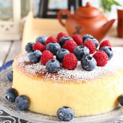 Japanese Cheesecake Recipe   Foxy Folksy