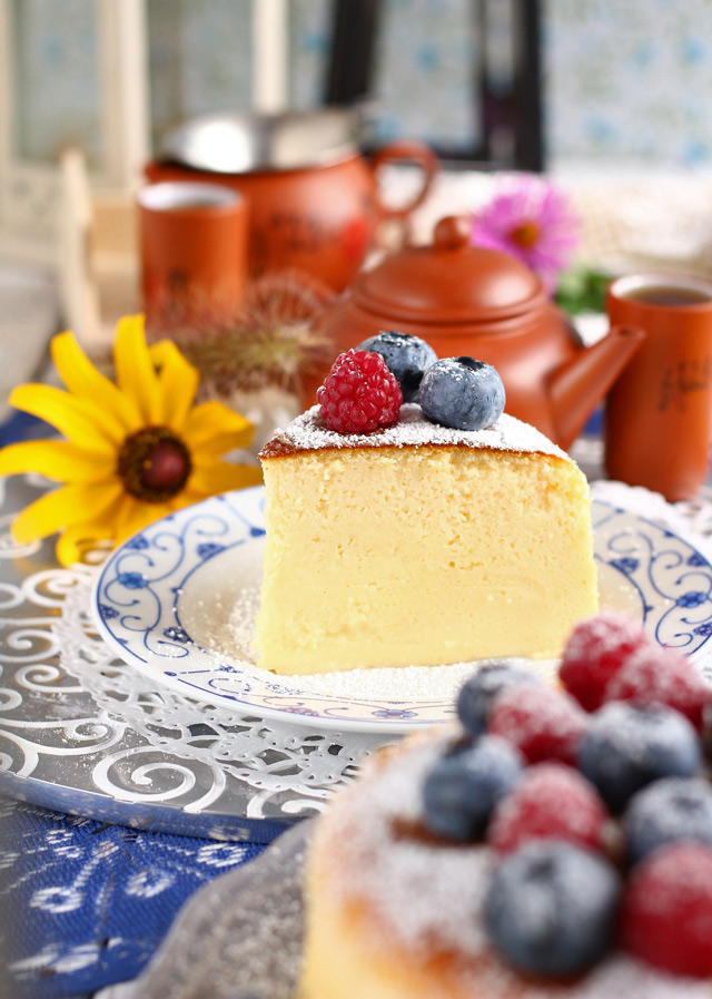 Japanese Cheesecake | Foxy Folksy
