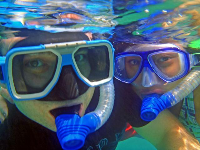 Pandan island snorkeling