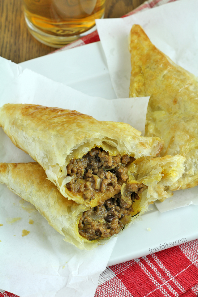 spicy beef jamaican patties foxy folksy