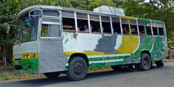 Bus to Sablayan
