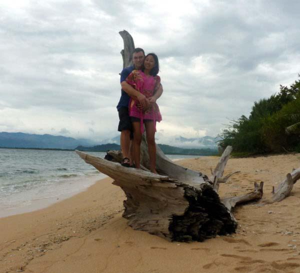 Pandan island Armin and Bebs