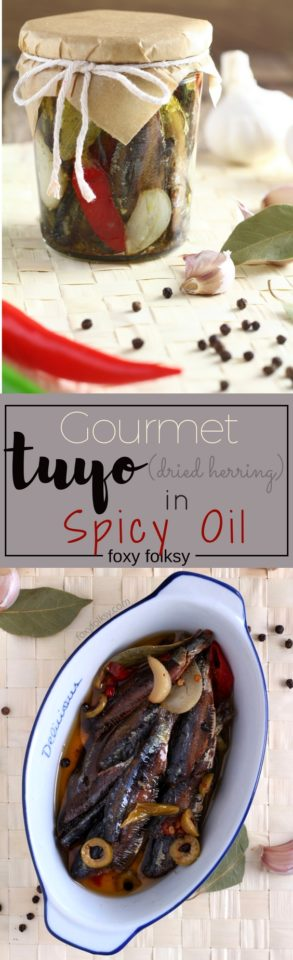 Try this Gourmet Tuyo Recipe and bring your plain tuyo (dried herring) to a whole new level . | www.foxyfolksy.com