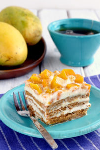 Mango Float Graham Cake