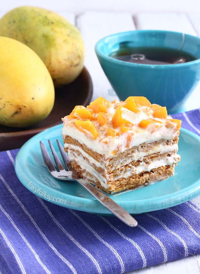 Mango Float Easy Recipe Foxy Folksy
