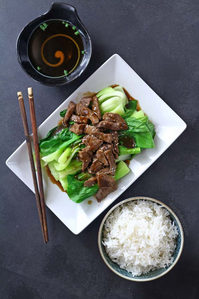 how to make oyster sauce stir fry