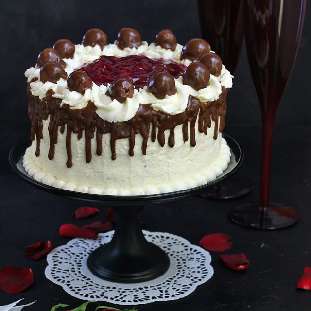 Try The Classic German Black Forest Cake. Get Recipe Here! | Www.foxyfolksy.com