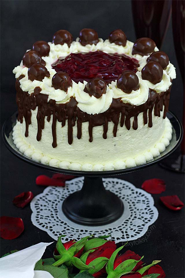 German Black Forest Cake Recipe Without Alcohol
