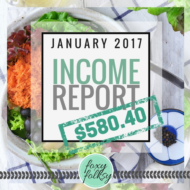 Traffic & Income Report - January 2017