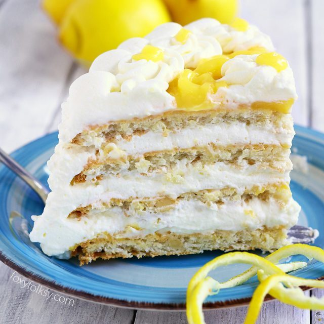 Lemon Torte (inspired from Purple Oven's)