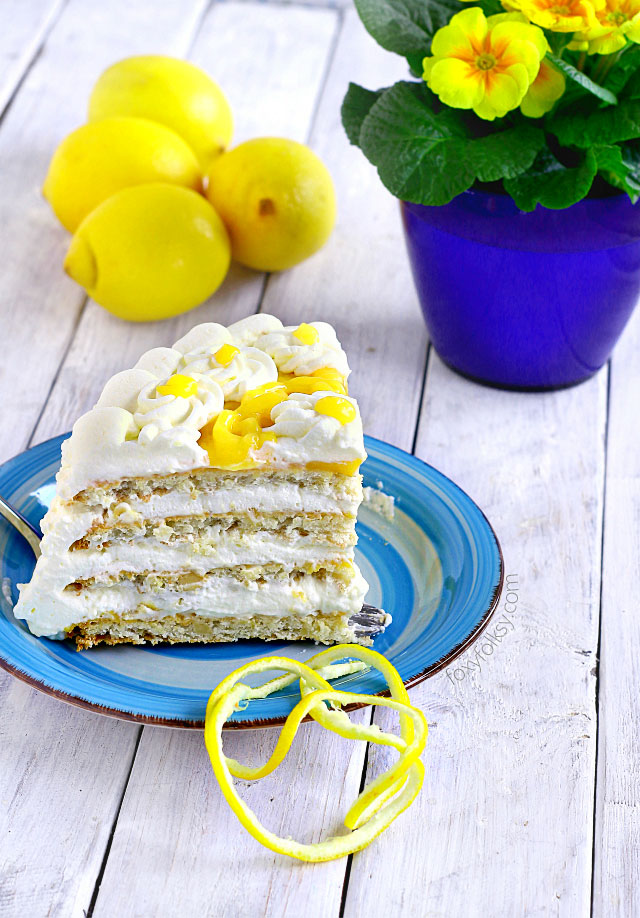 Try this lemon Torte cake (inspired by Purple Oven) for a refreshingly sweet, tangy and nutty deliciousness.   www.foxyfolksy.com