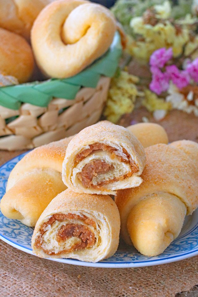 Filipino Spanish Bread Recipe Foxy Folksy