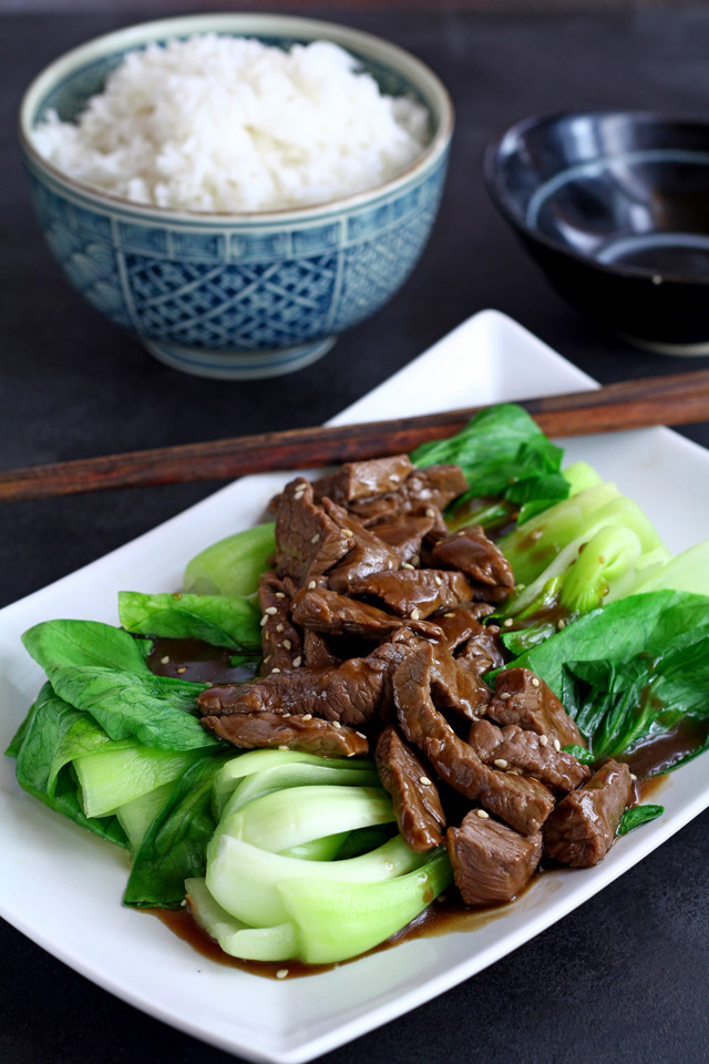 Beef Stir Fry with Oyster Sauce