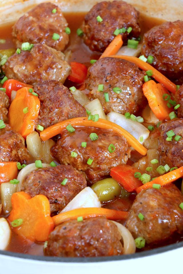 Meatballs Agre Dulce