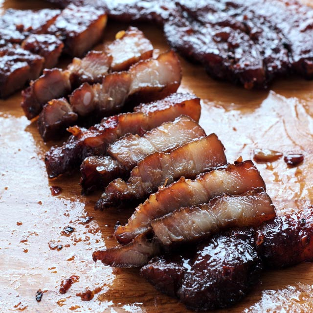 Oven Grilled Bbq Pork Belly With Only 6 Ingredients