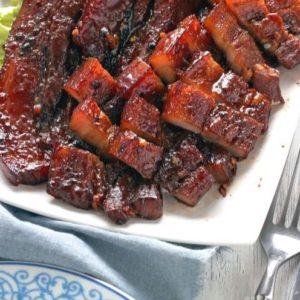 Barbeque Pork Belly recipe