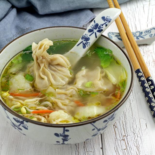Wonton Soup Easy Recipe