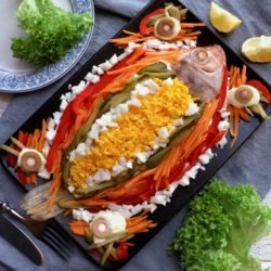 Level Up Your Simple Steamed Fish Into This Colorful And Tasty Steamed Fish With Mayonnaise Recipe! | Www.foxyfolksy.com