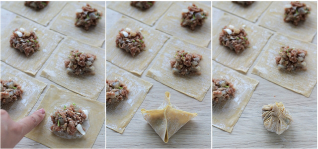 Try this easy recipe for wonton soup. A Chinese dumpling classic with pork and prawns!   www.foxyfolksy.com