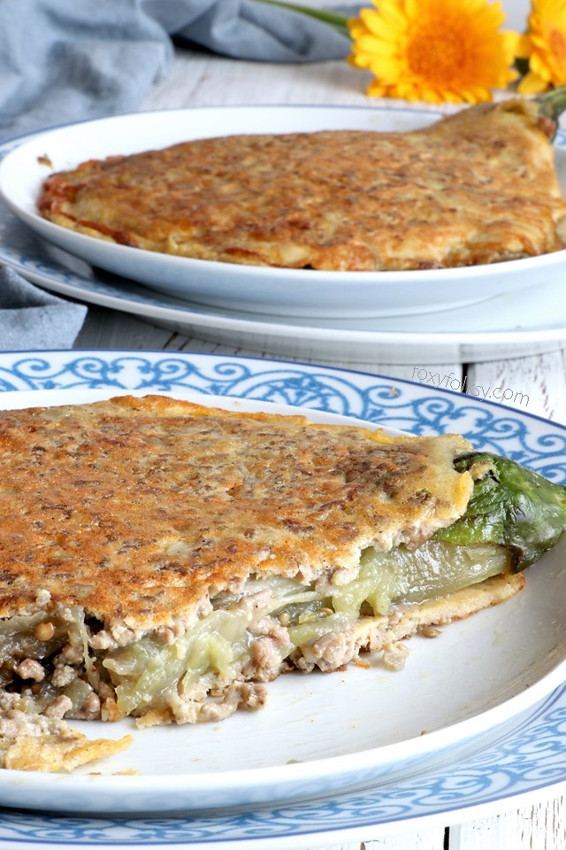 Get this Tortang Talong (Eggplant Omelette) recipe for a hearty Filipino breakfast!   www.foxyfolksy.com