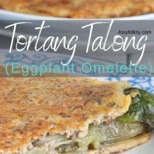 Tortang Talong (Eggplane Omelette)
