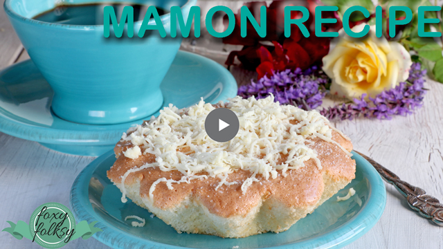 Try this easy-to-make and oh-so-soft and fluffy Mamon recipe!| www.foxyfolksy.com