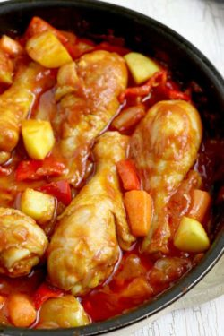 Chicken Afritad Recipe