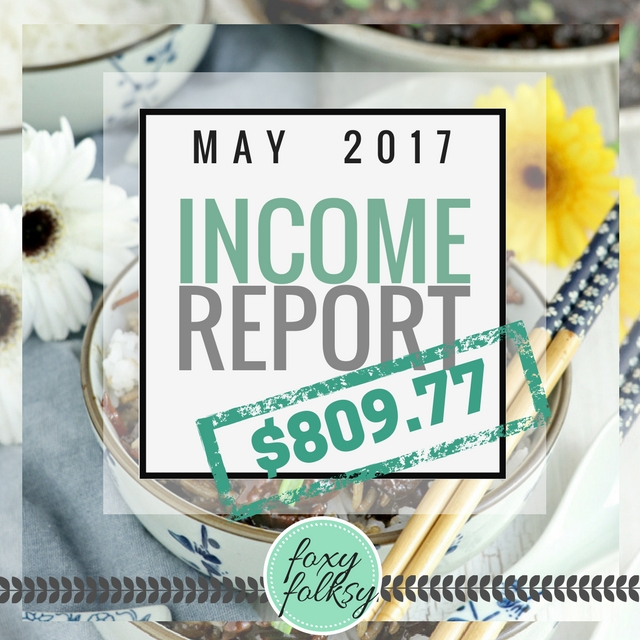 Traffic and income report May 2017
