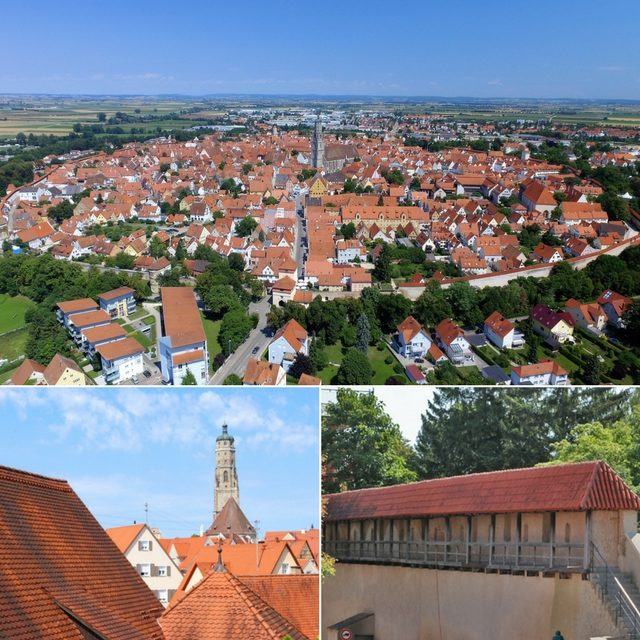 Nördlingen – A quaint walled medieval city unknown to many tourists…