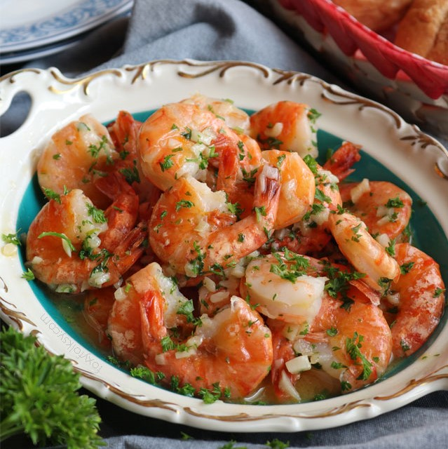 Garlic Butter Shrimps