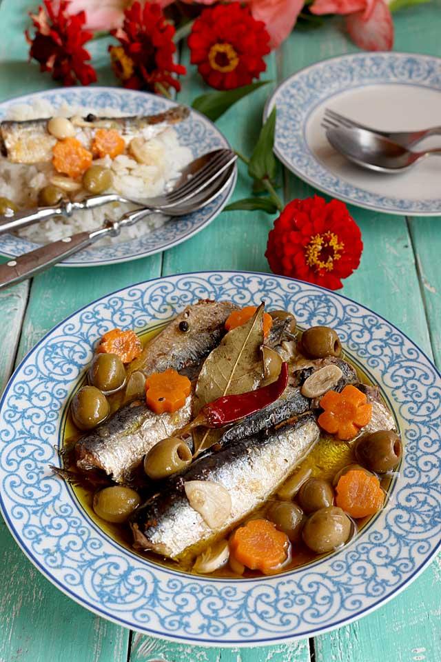 Homemade Sardines